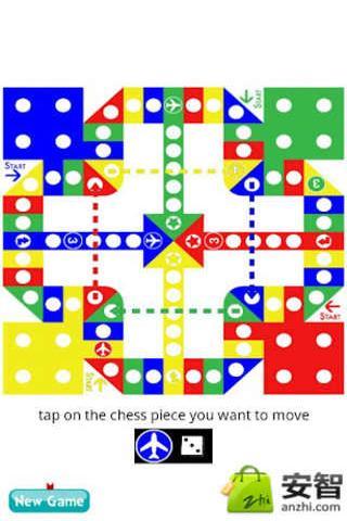 玩法和传统的飞行棋一致!