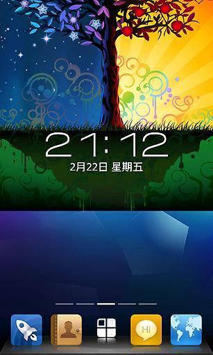 WP7风格-360锁屏主题
