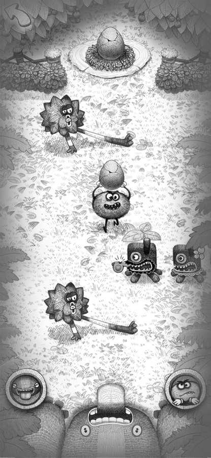 饥肠辘辘的怪物截图1