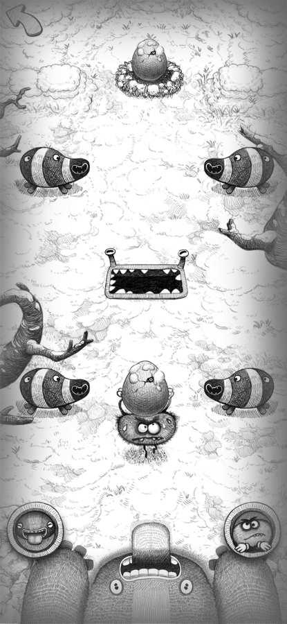 饥肠辘辘的怪物截图2