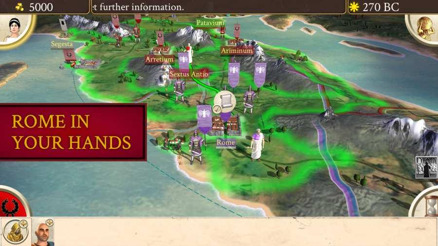 罗马:全面战争截图1