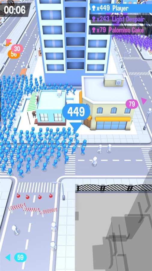 拥挤城市 测试版截图1