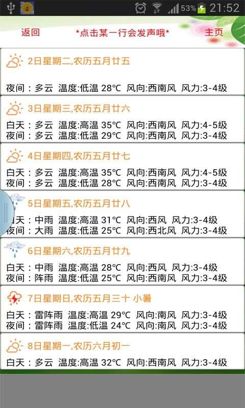 天气预报播报员截图1