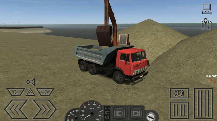 卡车运输模拟截图1