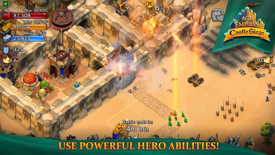 帝国时代:围攻城堡截图1