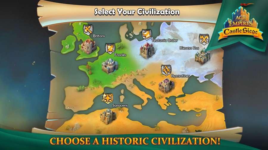 帝国时代:围攻城堡截图2