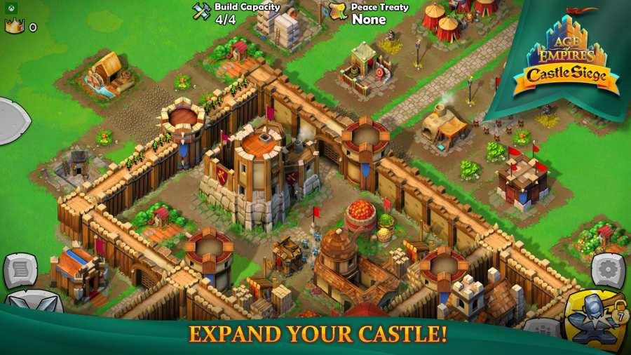 帝国时代:围攻城堡截图3