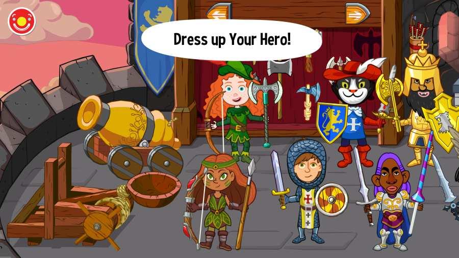佩皮国王的城堡 Pepi Tales: King's截图1