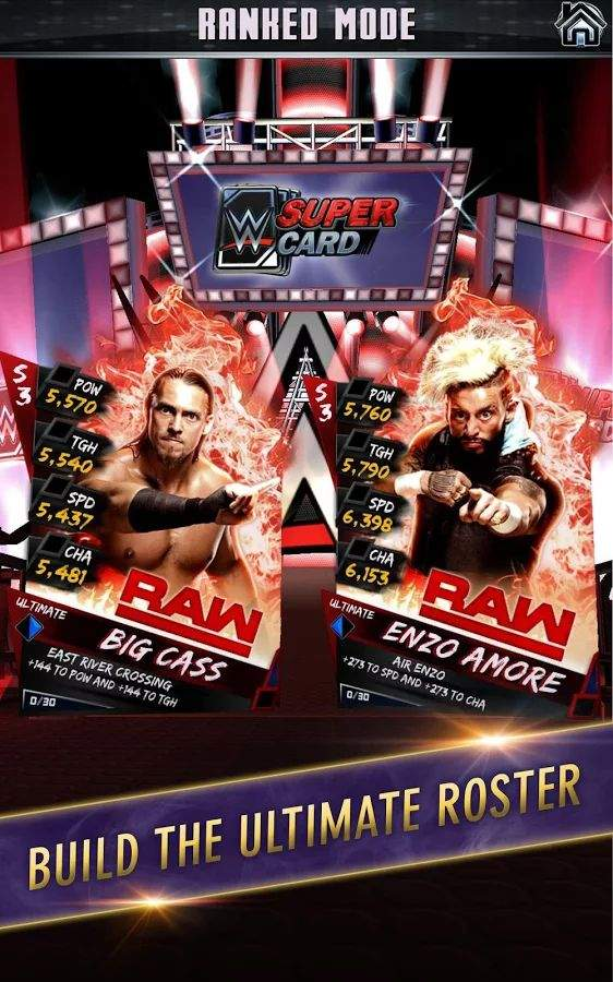 WWE 巨星卡牌截图1