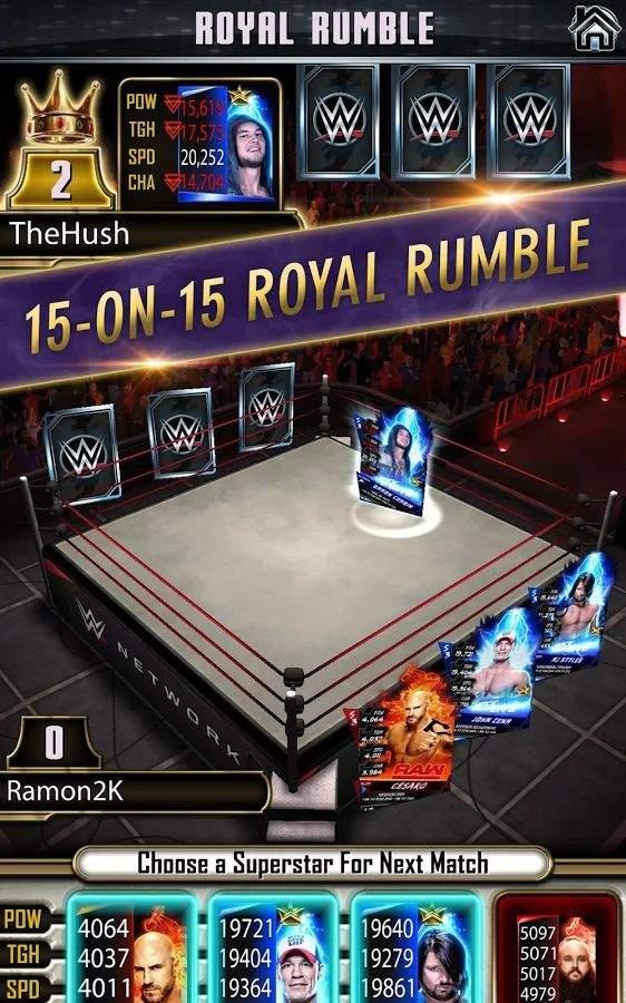 WWE 巨星卡牌截图3