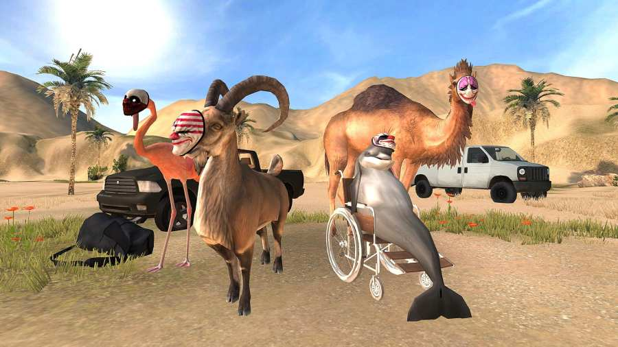 模拟山羊:收获日截图2