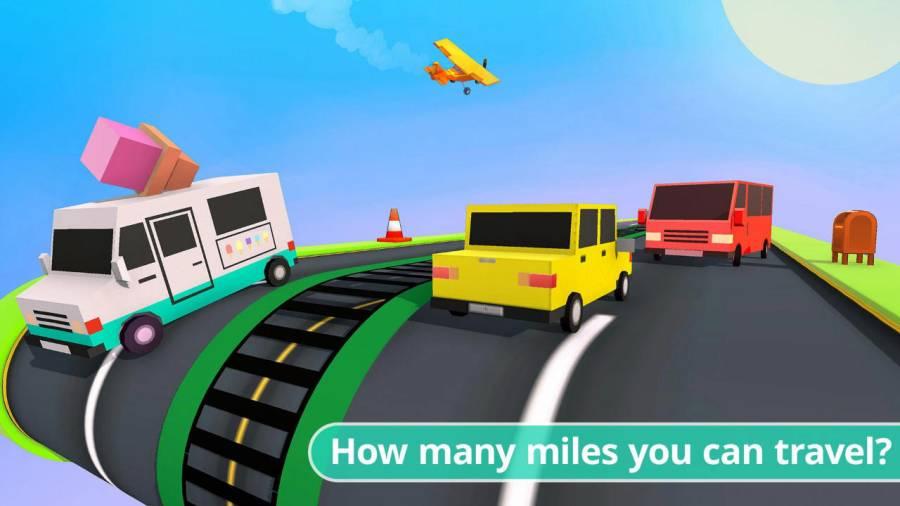 繁忙道路:驾驶与漂移