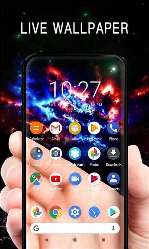 手機透明屏幕特效截圖1