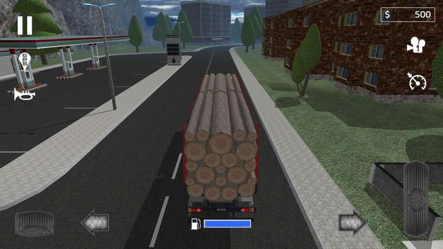 载货卡车模拟截图2