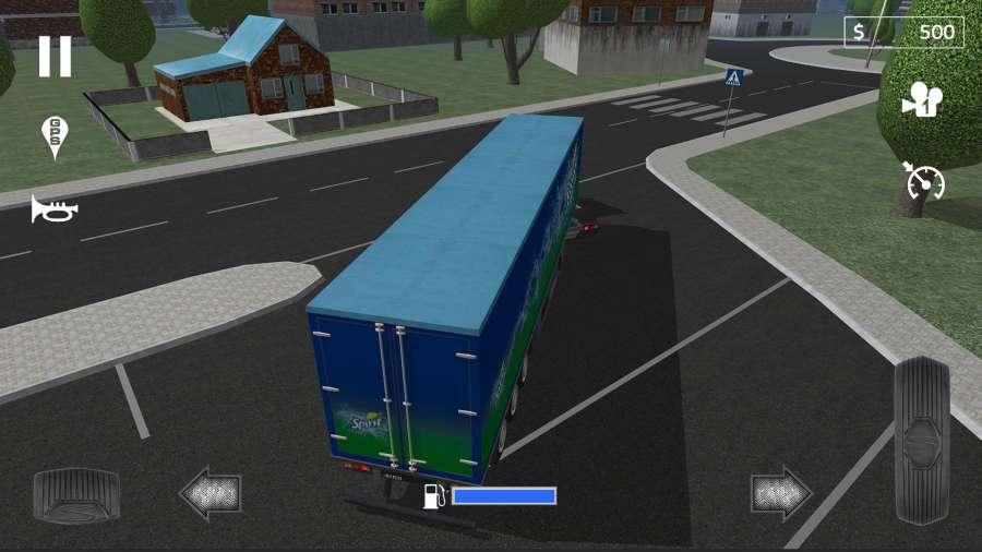 载货卡车模拟截图3