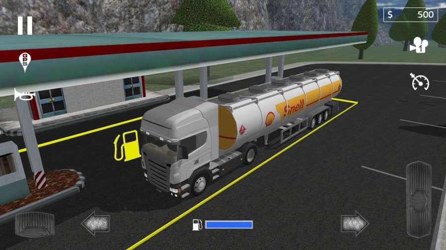 载货卡车模拟截图4