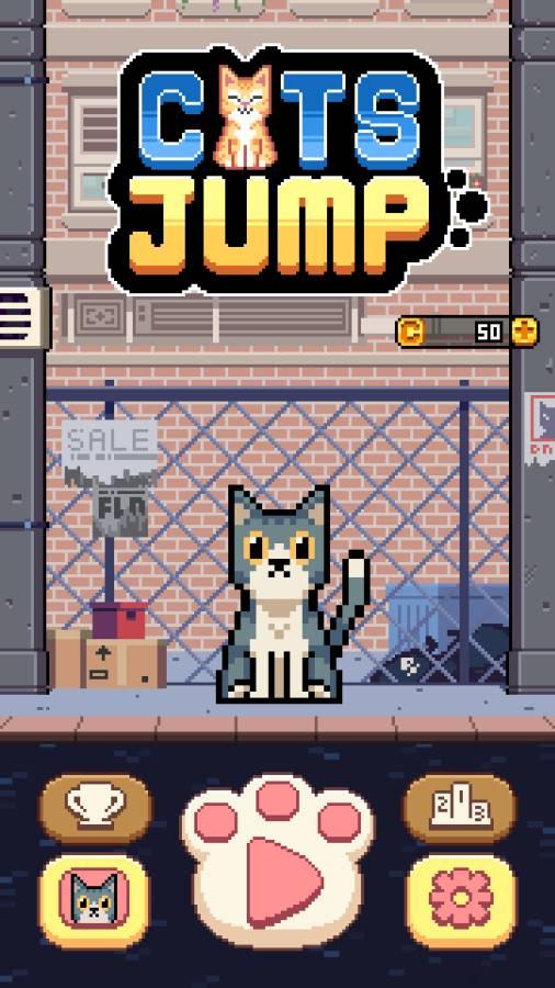 猫咪跳跃截图0
