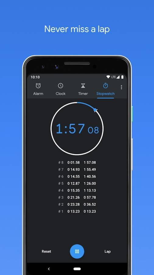 Google Clock截图4