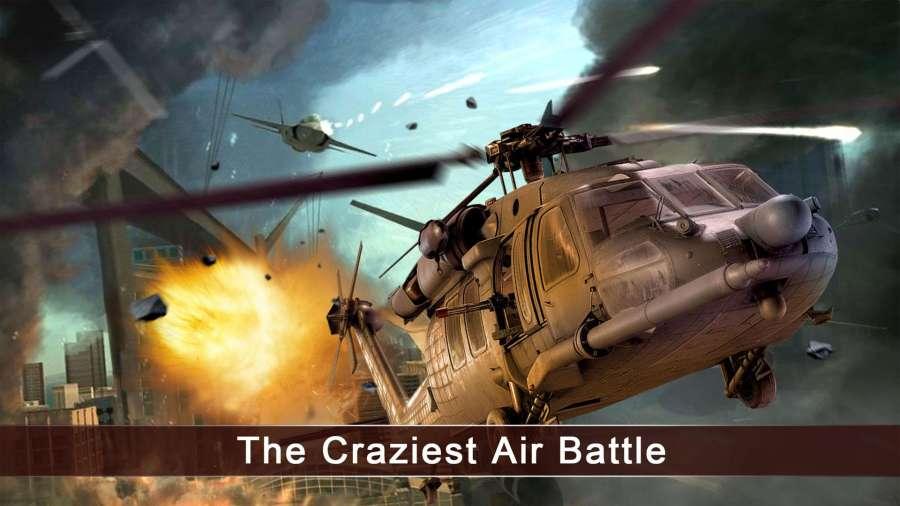 皇牌突袭:武装直升机截图2