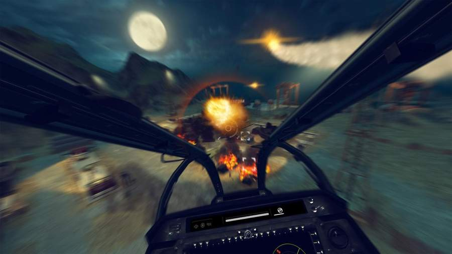 皇牌突袭:武装直升机截图3