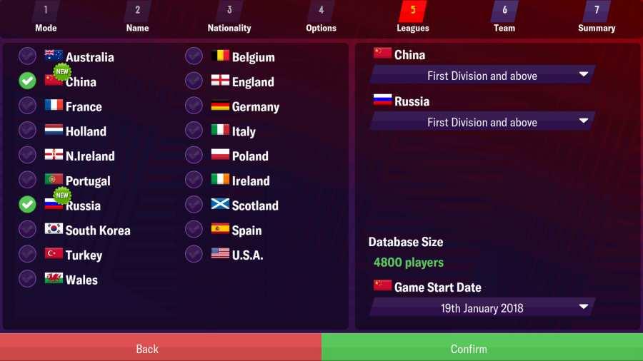 足球经理2019 移动版截图1