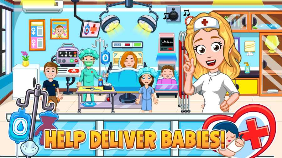 我的城市:新生婴儿截图2