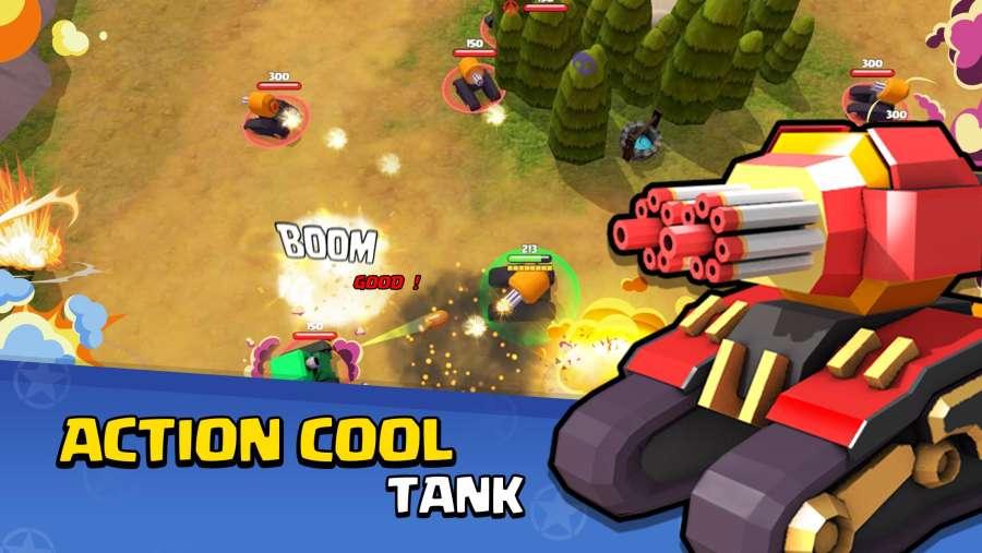 坦克射击:生存大战截图0