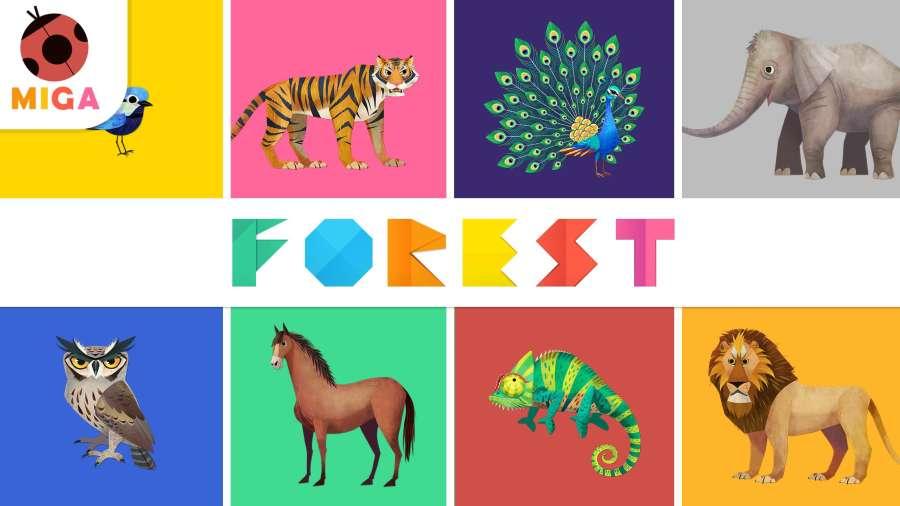 米加森林截图1