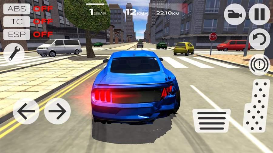 极速汽车模拟驾驶截图2