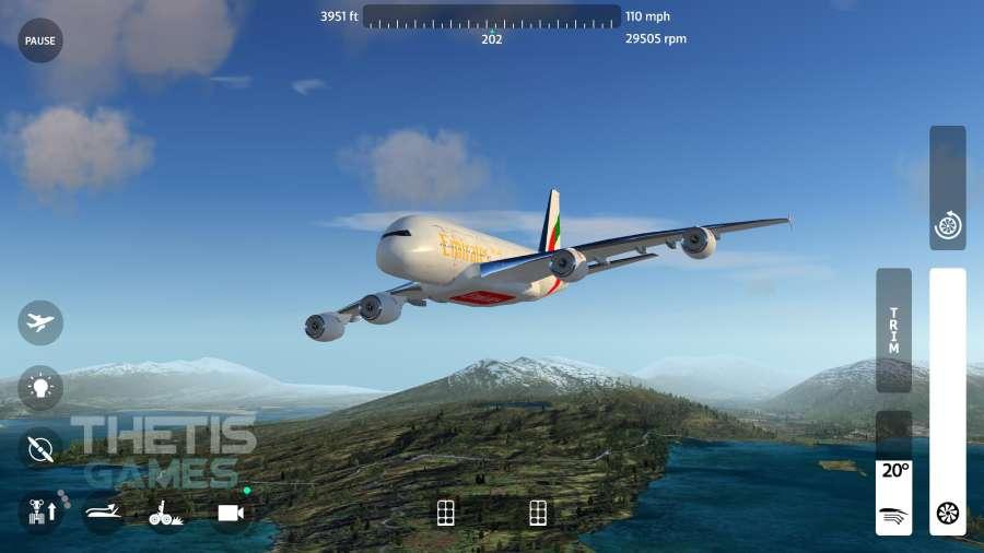 飛翔之翼2018-飛行模擬器截圖0