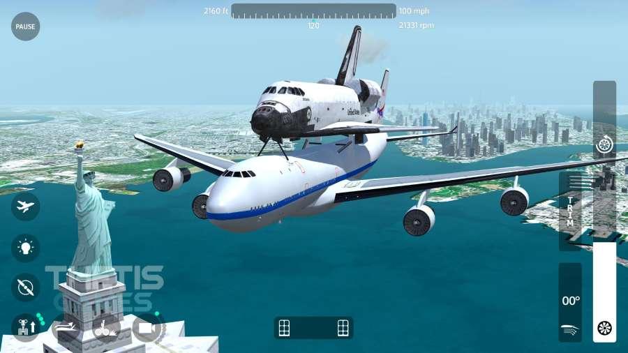 飛翔之翼2018-飛行模擬器截圖3