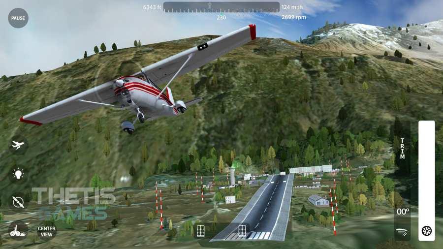 飛翔之翼2018-飛行模擬器截圖4