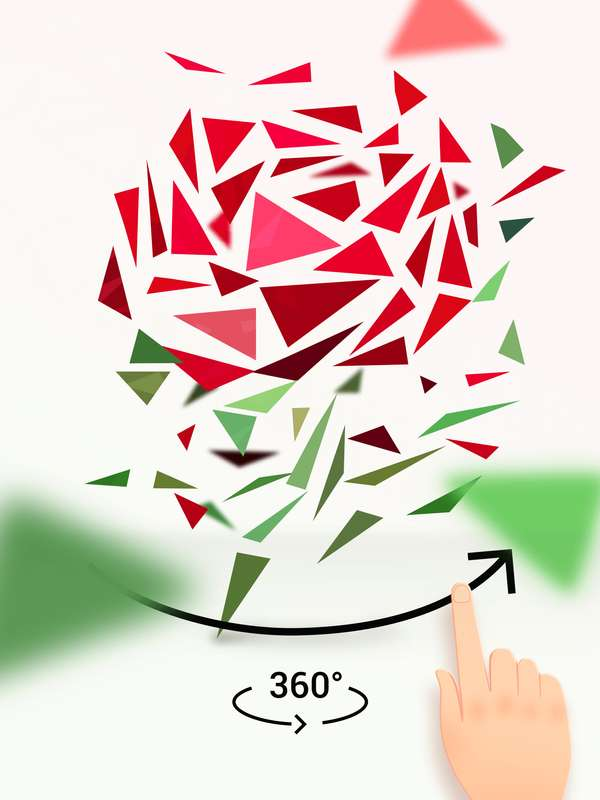 转转拼图 - 全新的益智拼图游戏截图1