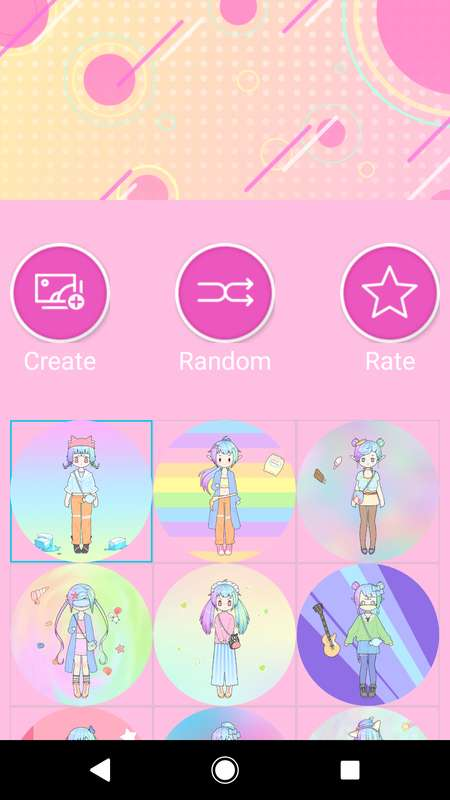 Pastel Avatar Maker截图4