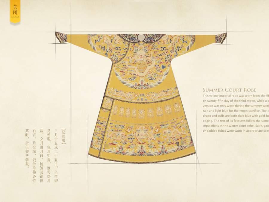 清代皇帝服饰 - 故宫出品截图0