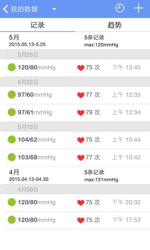 高血压管家截图1
