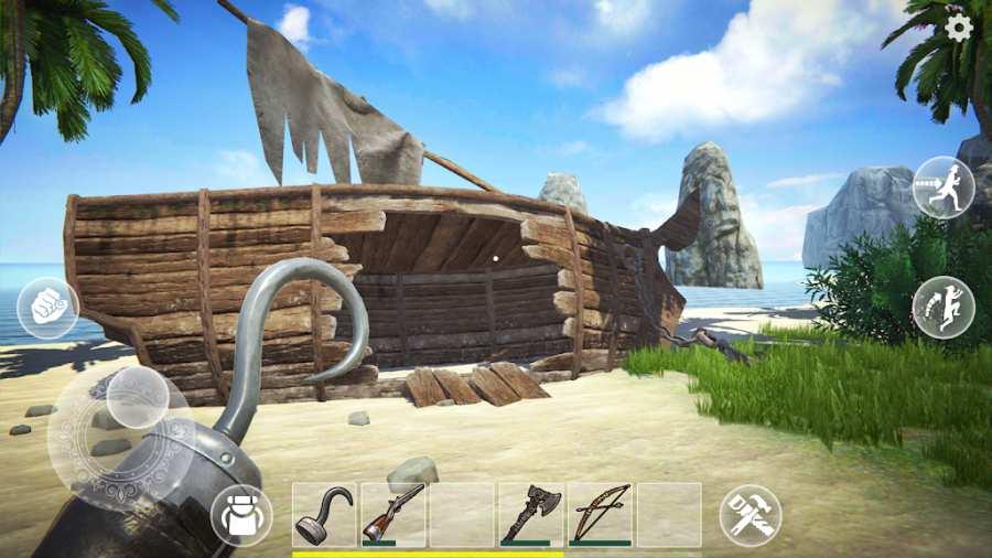 最后的海盗:岛屿生存截图1