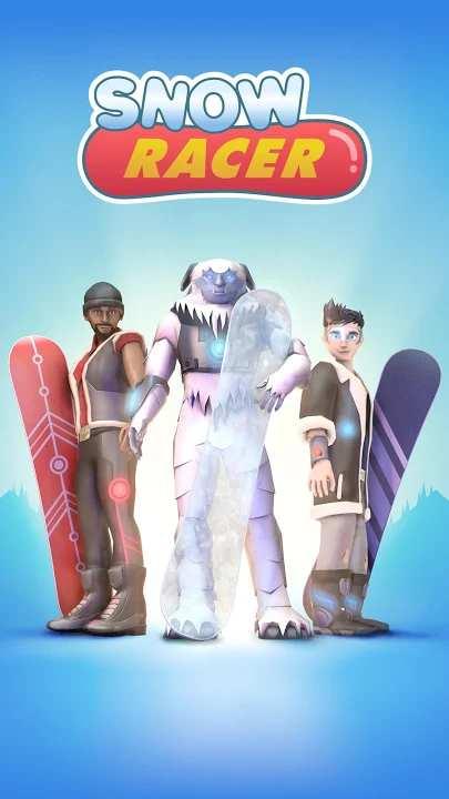 滑雪竞速登山赛截图1