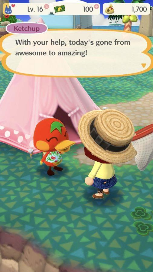 动物之森:口袋露营截图3