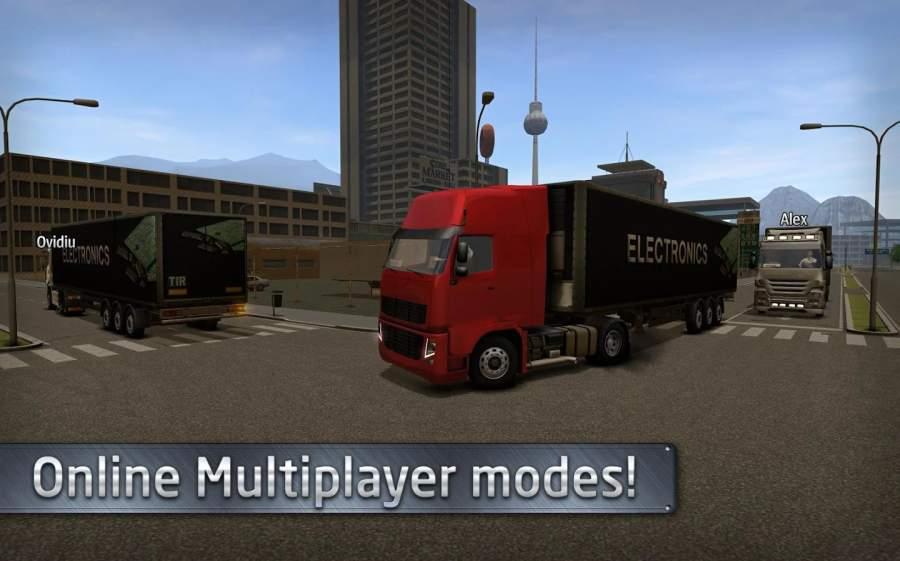 欧洲卡车司机模拟器截图4