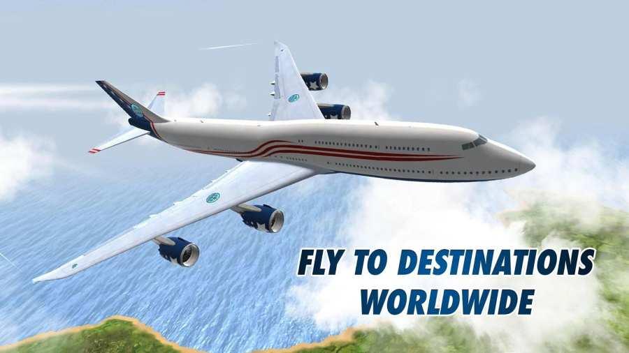 起飞:飞行模拟器截图0