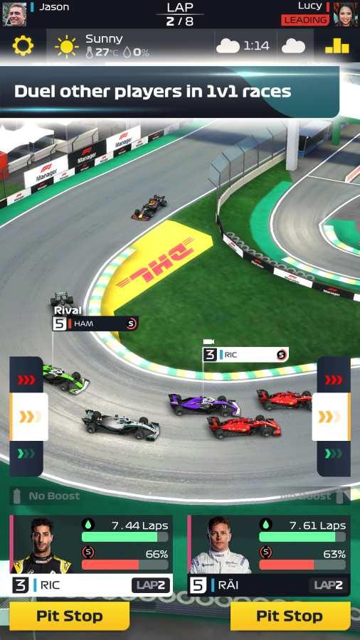 F1赛车经理截图1