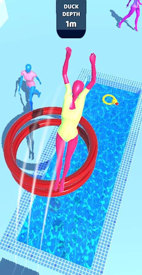 紫色跳水员截图0
