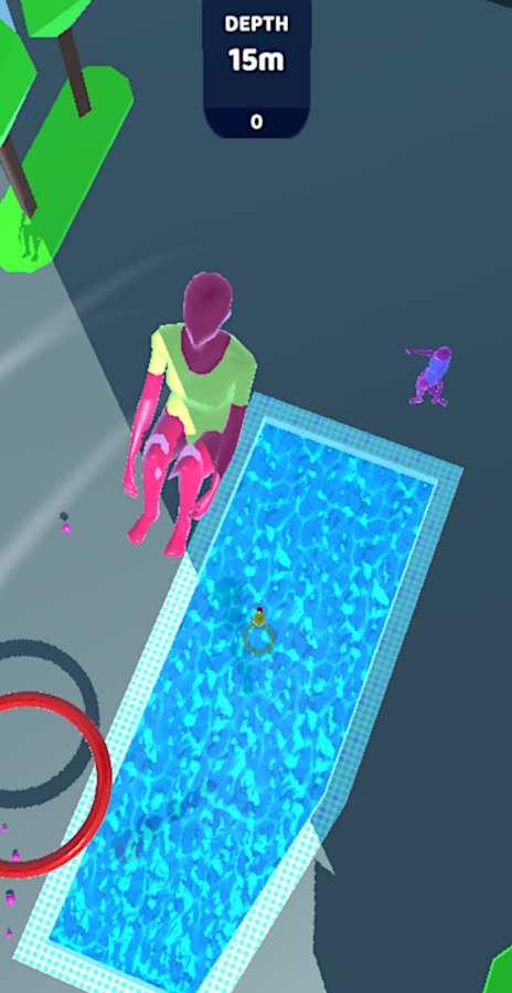 紫色跳水员截图2