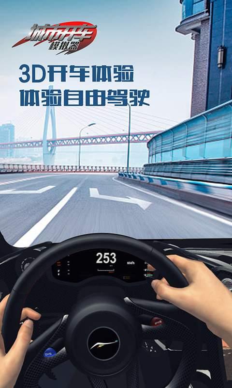 城市开车模拟器截图4
