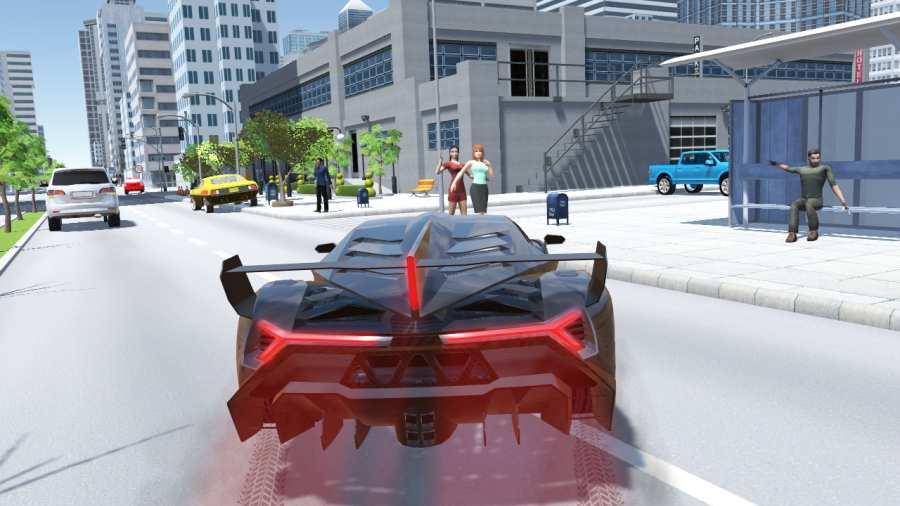 兰博汽车模拟器截图0