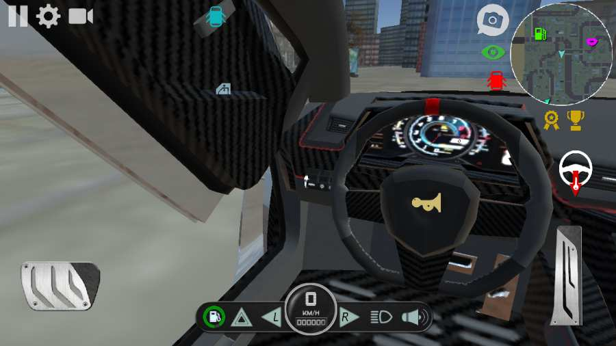 兰博汽车模拟器截图2