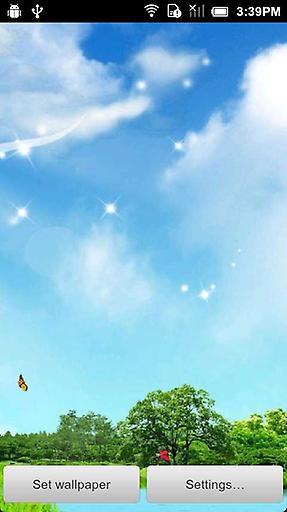 春天蝴蝶动态壁纸截图3