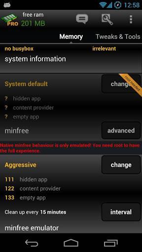 内存优化:AutoKiller Memory Optimizer截图1