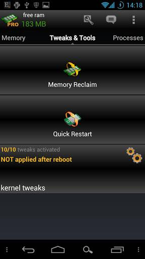 内存优化:AutoKiller Memory Optimizer截图2